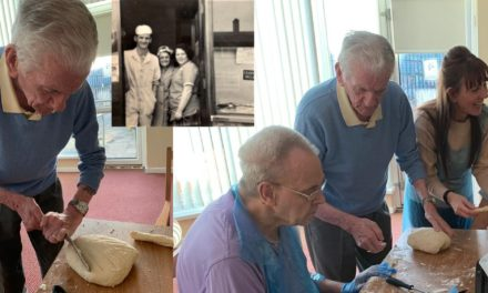 Masterclass in baking from care home resident Ralph