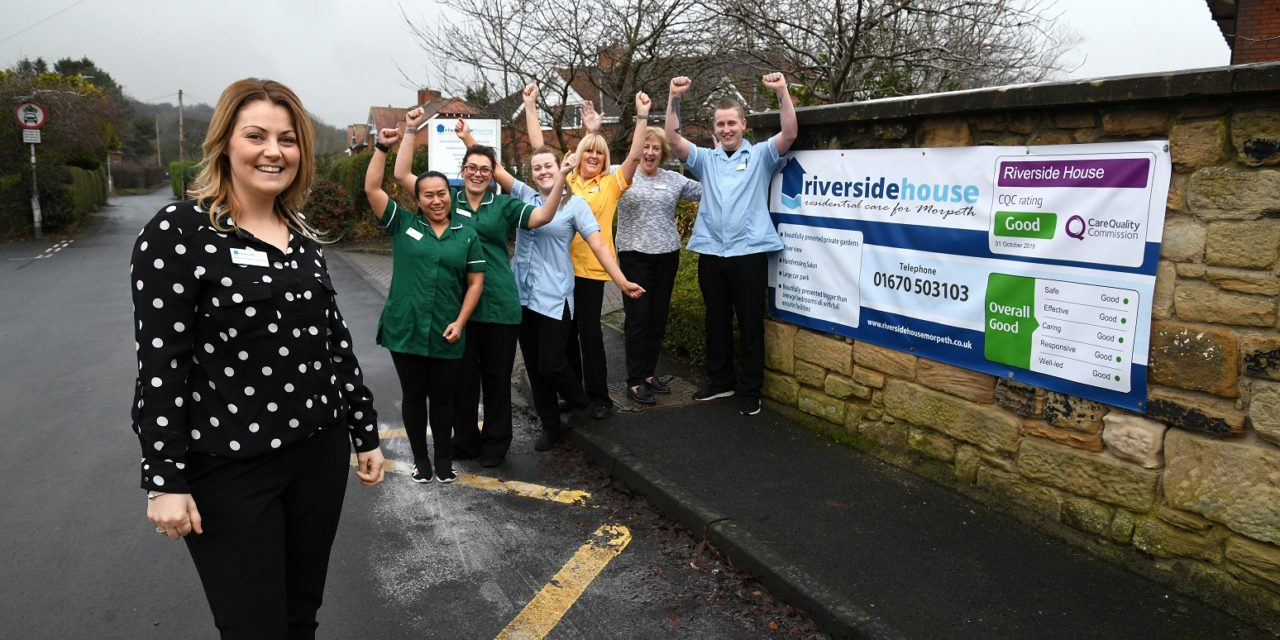 Morpeth care home celebrates CQC success