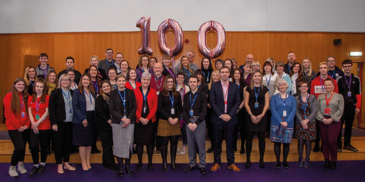 College celebrates its 100th Mental Health First Aider