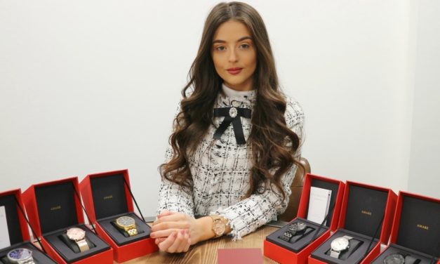 Investment signals growth for Teesside designer watch brand