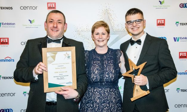 Award-winning apprentice helps Middlesbrough firm plug the skills gap
