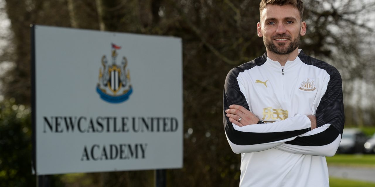 NEWCASTLE UNITED APPOINT CHRIS HOGG TO UNDER-23s ROLE