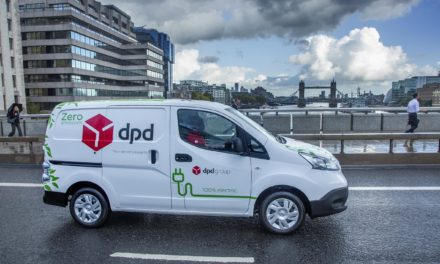 NISSAN DELIVERS LARGEST ELECTRIC VAN ORDER OF 300 NEW e-NV200 VANS FOR DPD