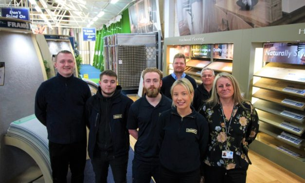 Well-known flooring retailer hails success of new apprenticeship programme