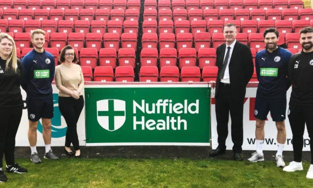 Gateshead Football Club boosts partnership with Nuffield Health Newcastle Hospital