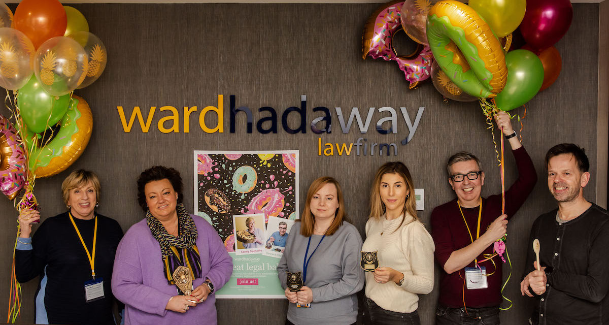 Law firm gets together on Valentine's Day to celebrate Great Legal Bake