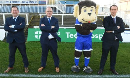 Hartlepool Football Club unite with private healthcare charity in new sponsorship deal