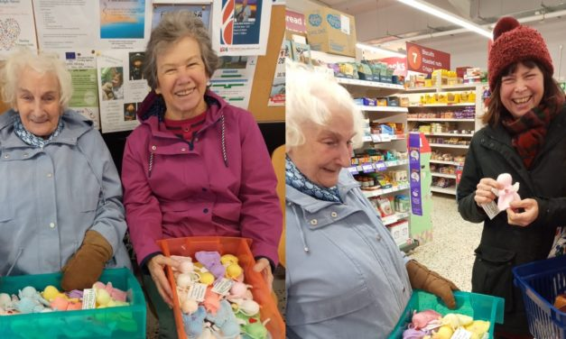 Angels given to Saltburn shoppers on Kindness Day