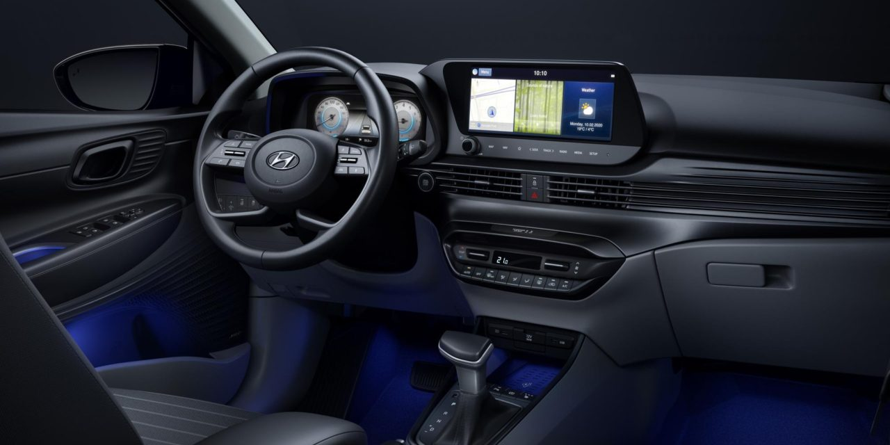 HYUNDAI RELEASES INTERIOR IMAGE OF THE ALL-NEW i20