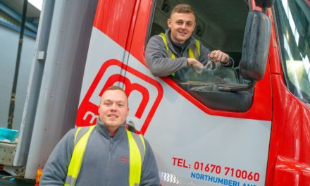 Reece selected from 150 applicants as Moody Logistics' latest Warehouse to Wheels apprentice