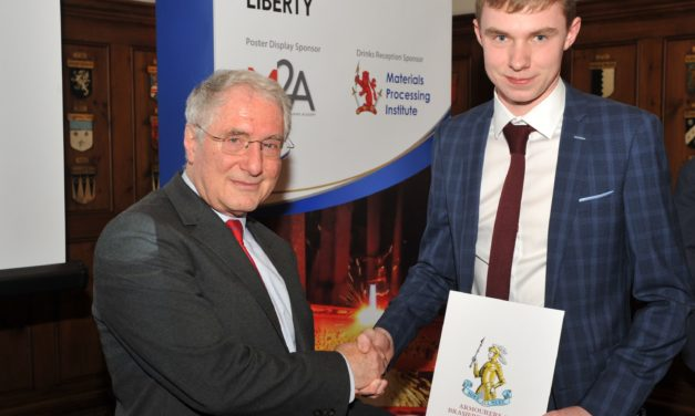 Teesside student named as latest Millman Scholar by Materials Processing Institute