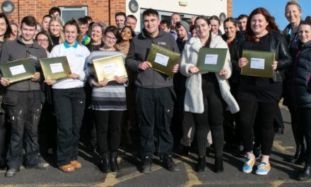 BEYOND HOUSING CELEBRATES ITS APPRENTICES WITH COMMUNITY CHALLENGES