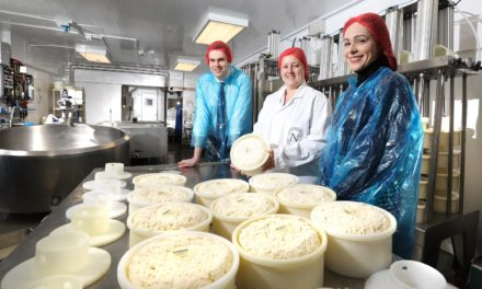 Cheese manufacturer creates new jobs and boosts outputs with rural business grant funding