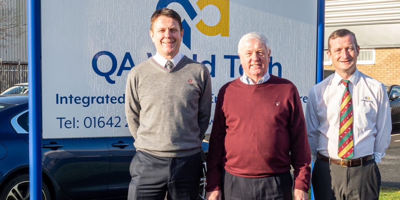 QA Weld Tech marks 40th anniversary with increased export ambitions