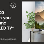 Samsung Offers Customers Cashback when Purchasing a Screen-Burn Free QLED TV