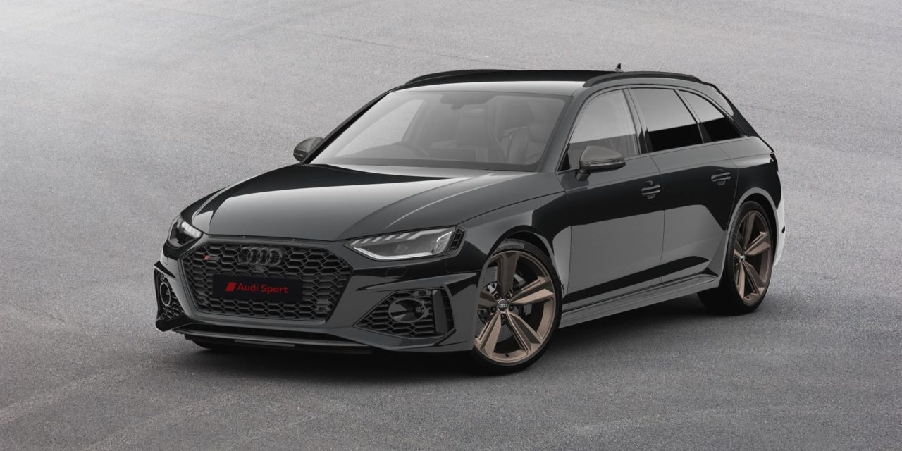 EVEN MORE PRECIOUS METAL – THE NEW AUDI RS 4 AVANT BRONZE EDITION