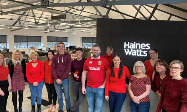 Haines Watts sees RED
