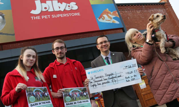 Walkies for charity as Darlington hospice invites entries to Bark in the Park