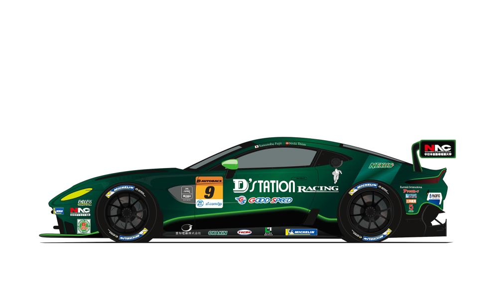 ASTON MARTIN PARTNERS WITH PACIFIC D'STATION RACING FOR ASSAULT ON JAPANESE SUPER GT CHAMPIONSHIP