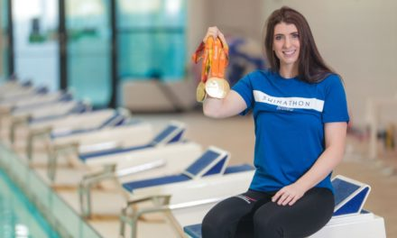PARALYMPIC STAR URGES LOCAL SWIMMERS TO 'GO FOR GOLD' WITH SWIMATHON