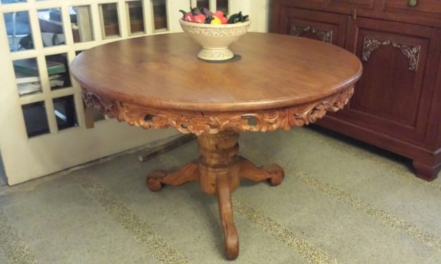 Antique Tables Are More Resistant Than Modern Ones