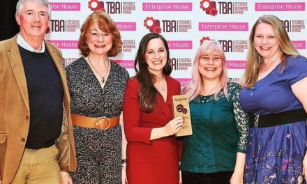 Solicitors Present Teesdale Business Award to Castle Players