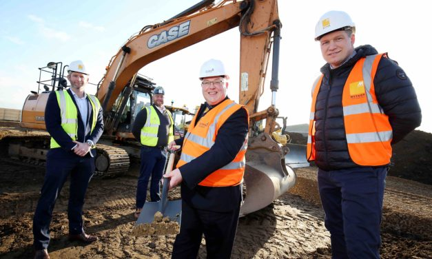 Turf cutting takes place for 40-bedroom Sunderland seafront inn