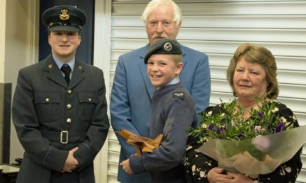 Cadets on cloud nine at annual awards