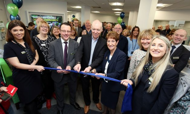 Big Turnout For Official Opening Of Newcastle Building Society's New Whitley Bay Branch