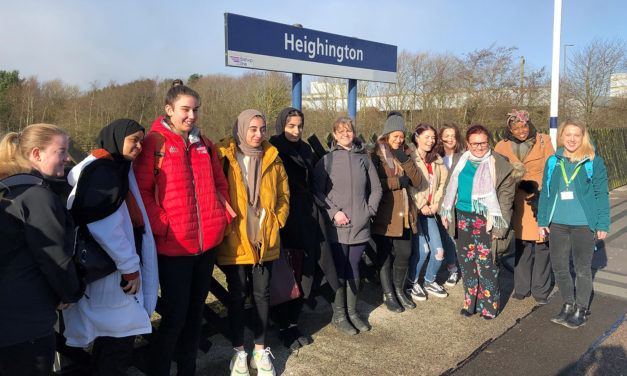Young Women Use The Railway To Access STEM Opportunities