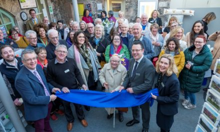 Starring Role For 99-Year-Old Joan At Opening Of Newcastle Building Society's New Wooler Branch
