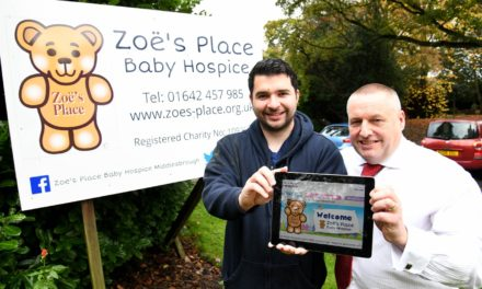 Teesside Baby Hospice Therapy Supported By Newcastle Building Society Grant