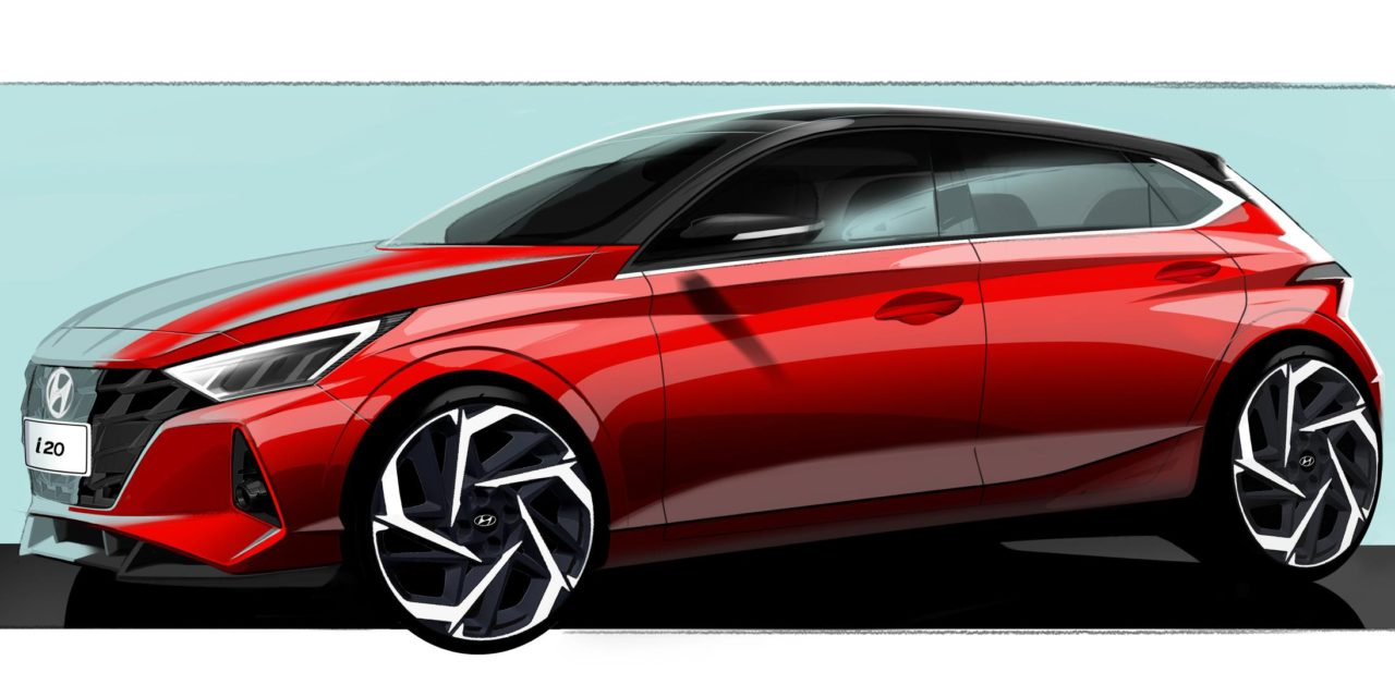 HYUNDAI MOTOR TEASES NEW DESIGN FOR THE ALL-NEW i20