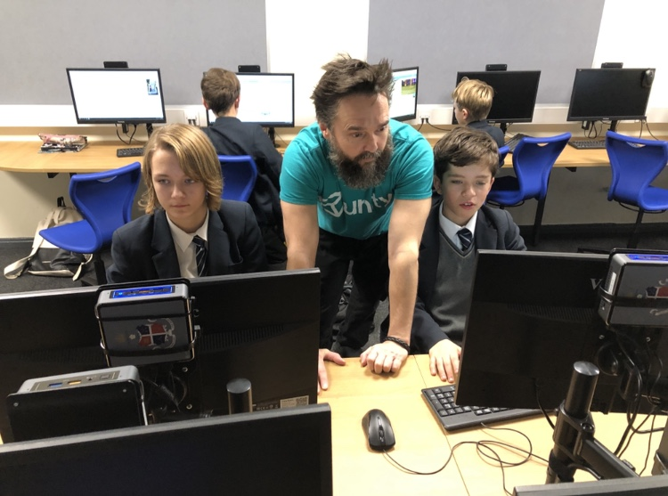 Ripon Grammar students stay ahead of the computer coding game