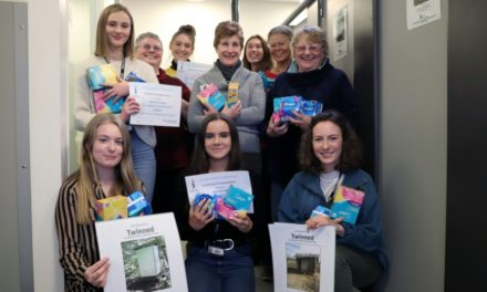 Students support community projects at home and abroad