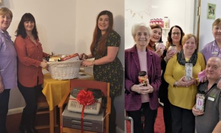 Retro sweet shop opened at care home delights residents