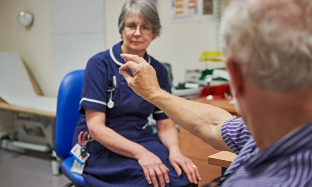 Study to examine the role of specialist nurses for people with Parkinson's