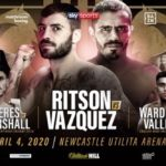 A Night of Championship Boxing Lewis Ritson vs Miguel Vazquez
