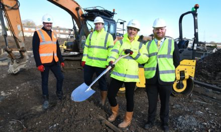 Partnership continues regeneration programme at Rowlands Gill site