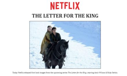 Netflix releases first look images of epic upcoming series THE LETTER FOR THE KING