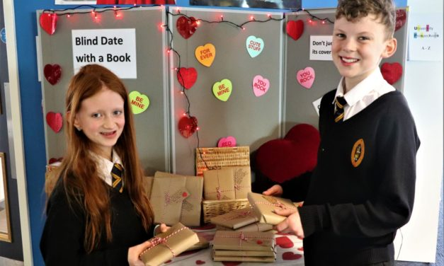 Spreading the love for books