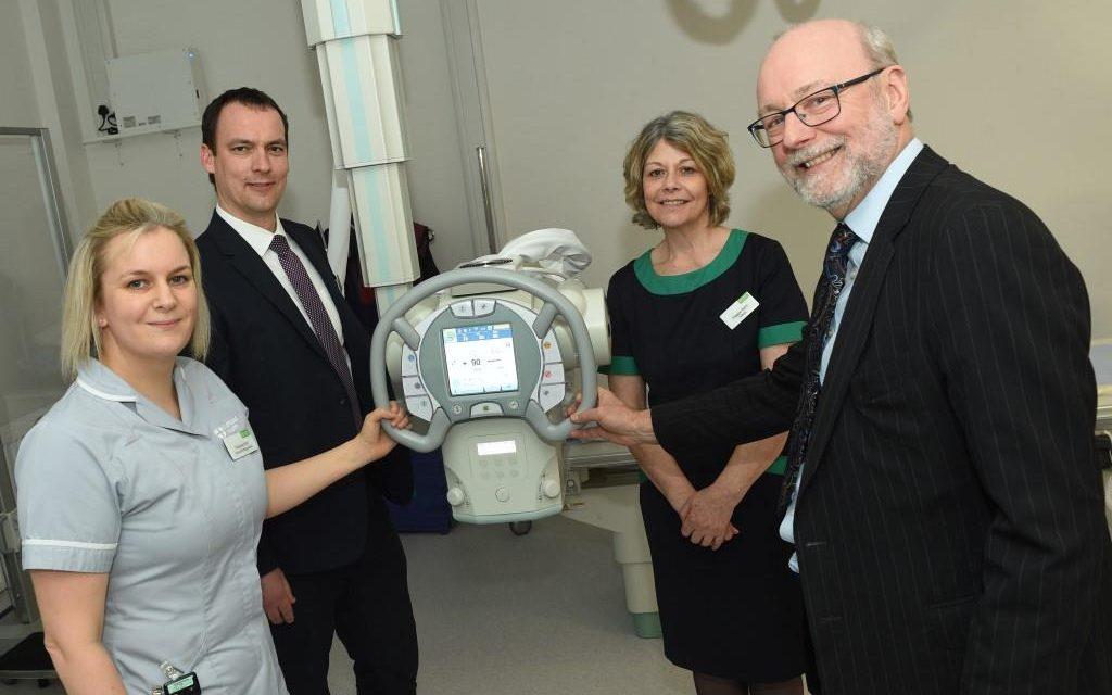 Stockton North MP visits Nuffield Health Tees Hospital to discuss ways of keeping people fitter for longer