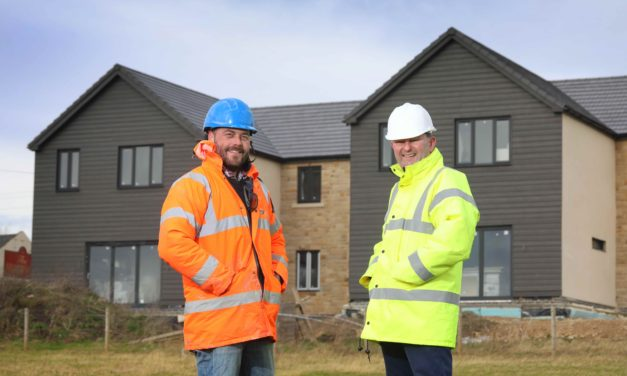 FAMILY HOMES BUILT WITH NORTH EAST PROPERTY FUND INVESTMENT