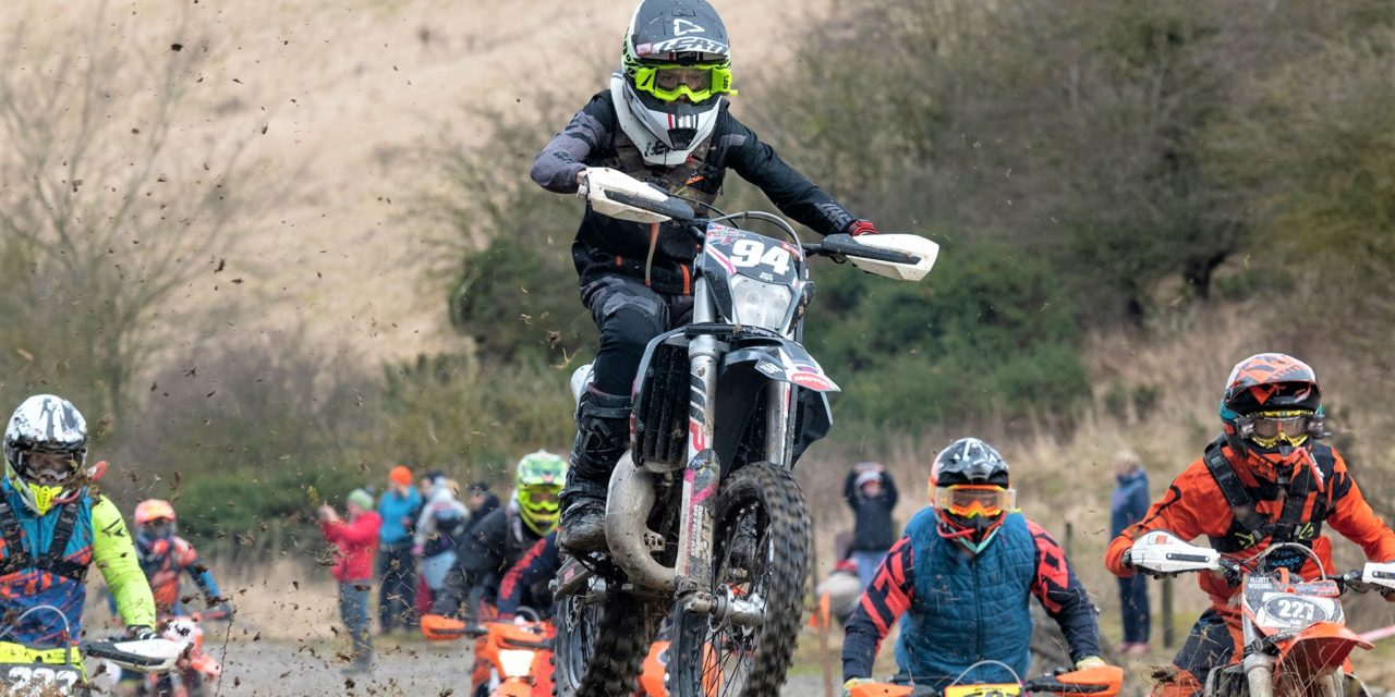 Date: March 2020 Cameron makes his mark on the Enduro racing scene