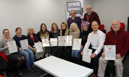 Volunteers learn how to lend an ear with college course