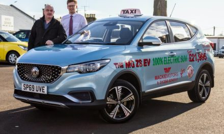 TAYPORT TAXIS GOES ELECTRIC WITH MG