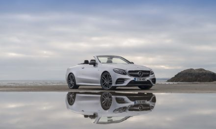 Hood up or down, the latest AMG is a car for all seasons