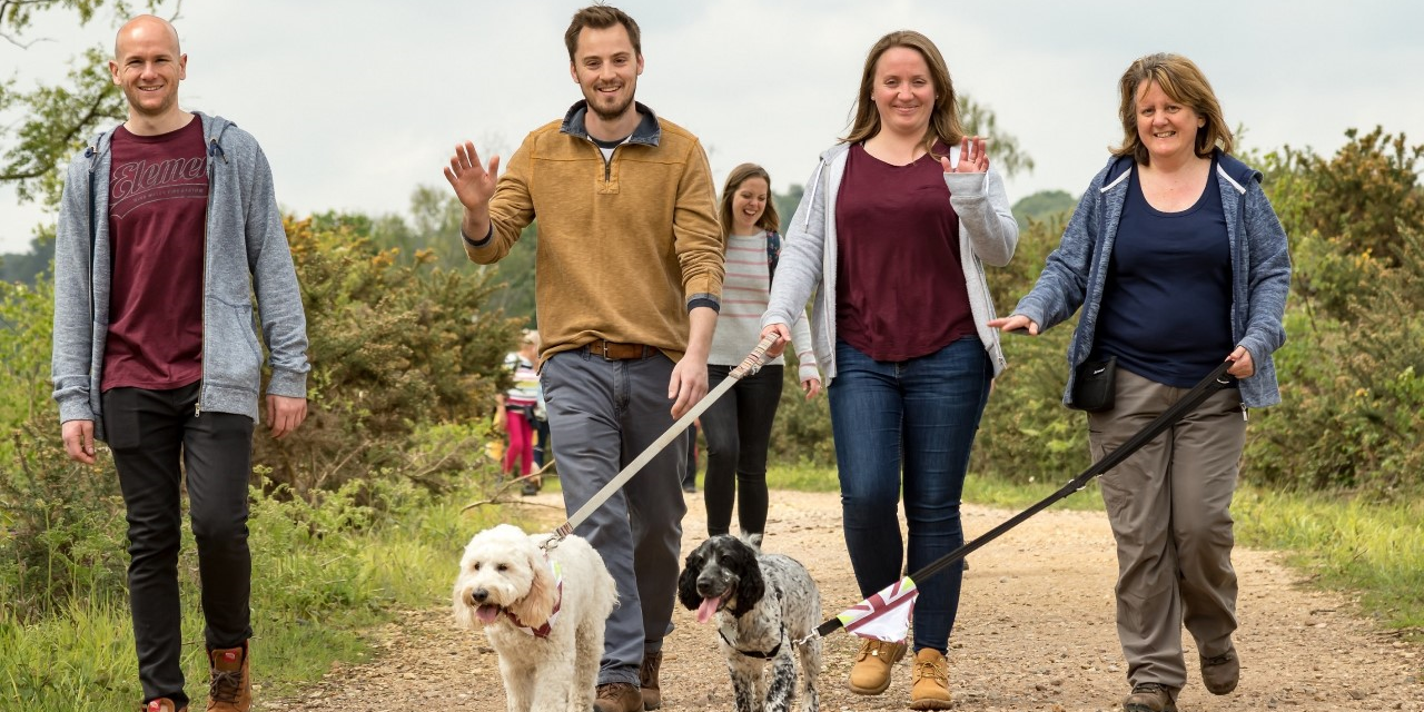 HUNDREDS OF DOGS AND WALKERS TO DESCEND ON RABY CASTLE FOR THE GREAT BRITISH DOG WALK