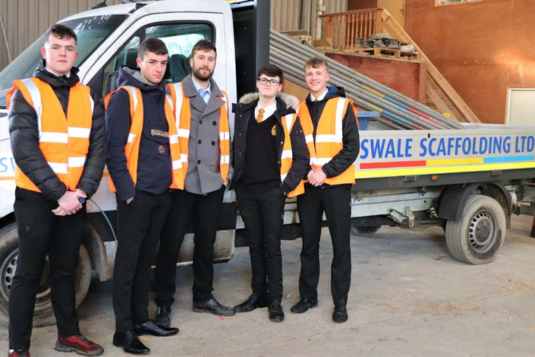 Students aim high with their apprenticeships