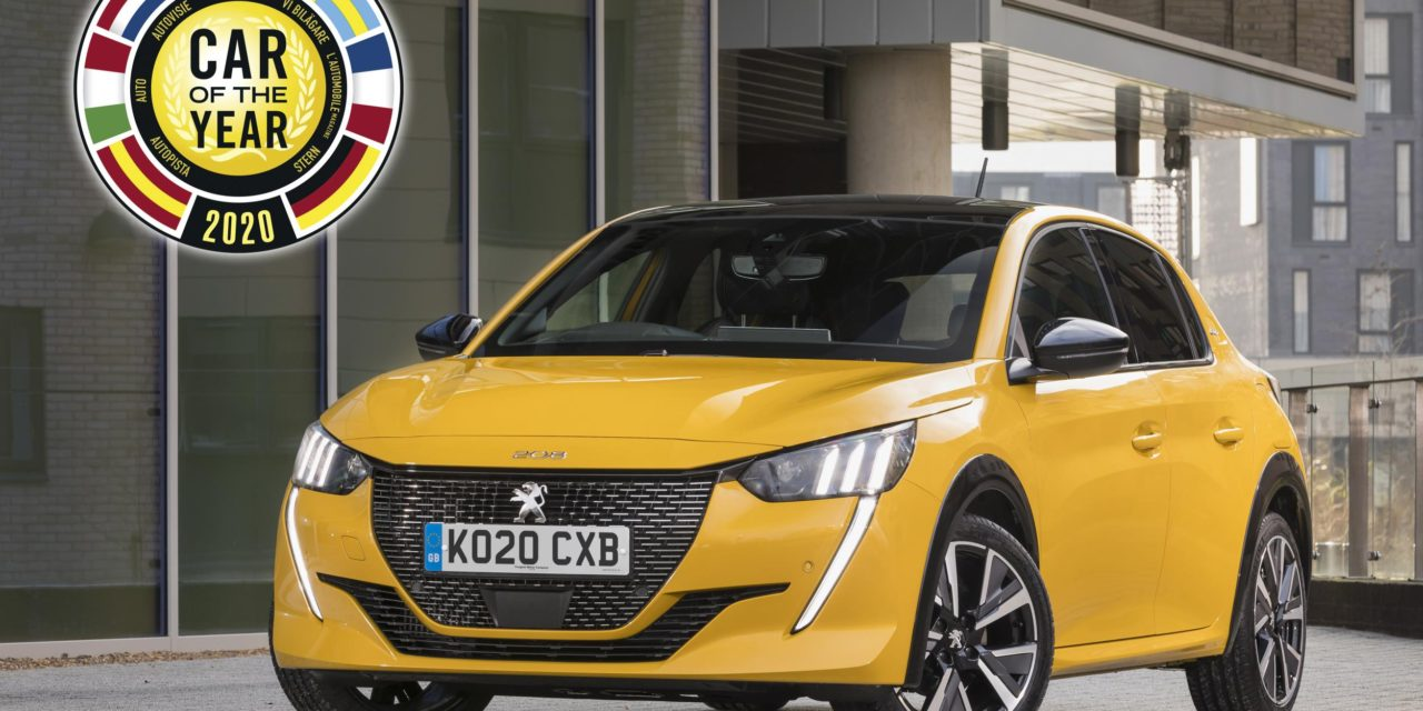 """ALL-NEW PEUGEOT 208 NAMED """"CAR OF THE YEAR 2020"""""""